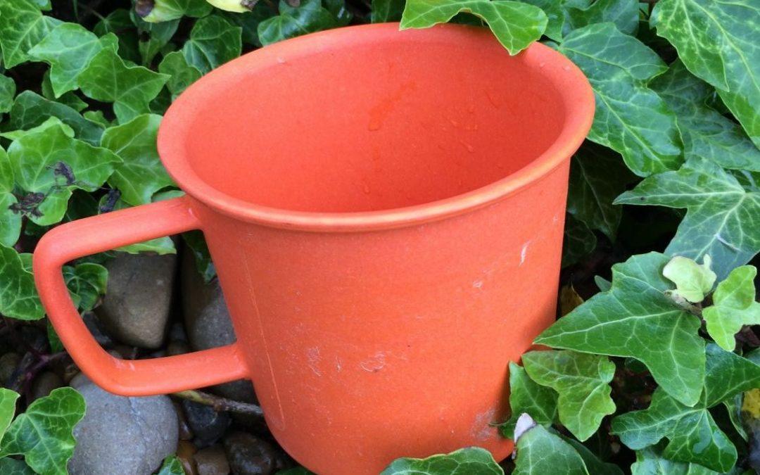 how do you test a bio-degradable mug