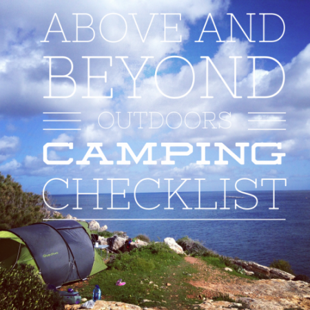 Make your trip a success with our essential camping checklist